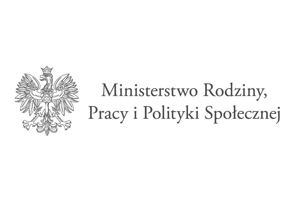 Logo Ministerstwa Rodziny Pracy i Polityki Społecznej